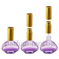 Флакон Коламбия 15мл фиолетовый (микроспрей золото)