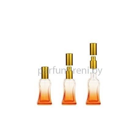 Флакон Белини 25мл оранжевый (спрей люкс золото)