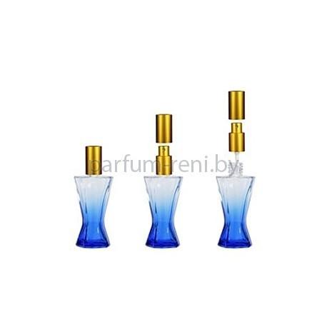 Флакон Винсент 35мл синий (спрей люкс золото)