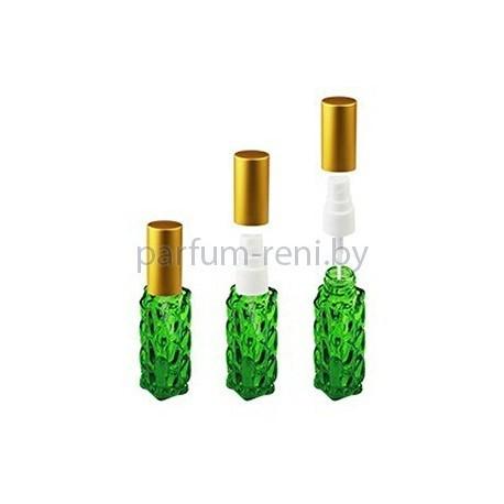 Флакон Гранат 20мл зеленый (спрей полулюкс золото)