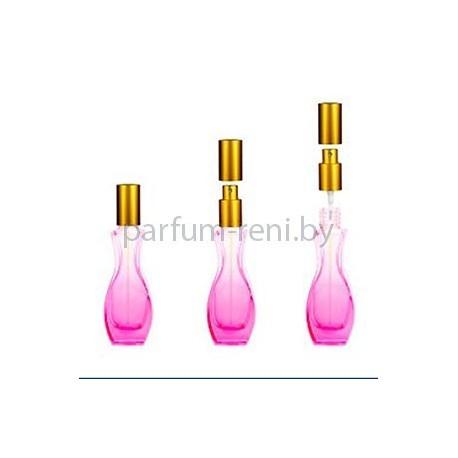 Флакон Грация 30мл розовый (спрей люкс золото)