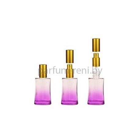 Флакон Ирис 30мл фиолетовый (спрей люкс золото)