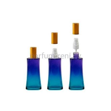 Флакон Ирис 50мл голубой (спрей полулюкс золото)