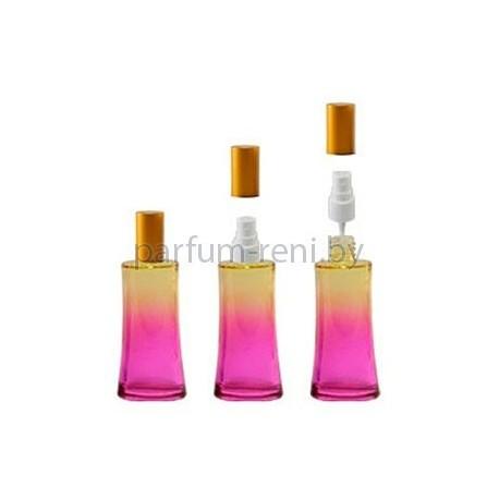 Флакон Ирис 50мл розовый (спрей полулюкс золото)