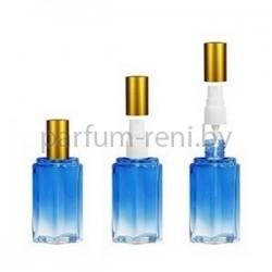 Флакон Микеланджело 25мл синий (спрей полулюкс золото)