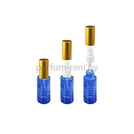 Флакон Спираль 20мл синий (спрей полулюкс золото)