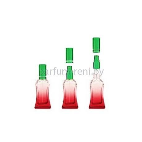 Флакон Белини 25мл красный (спрей люкс зеленый)