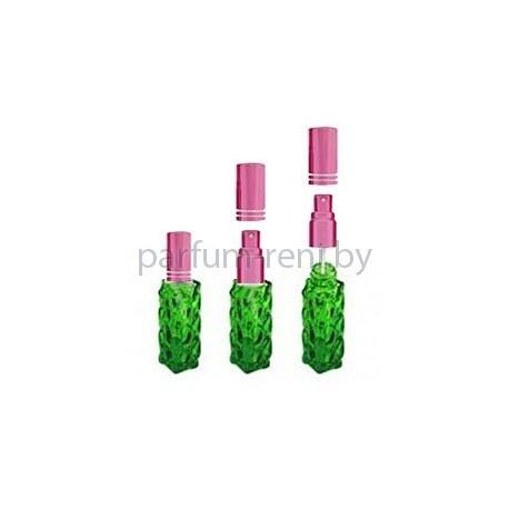 Флакон Гранат 20мл зеленый (спрей люкс розовый)