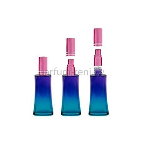 Флакон Ирис 50мл голубой (спрей люкс розовый)