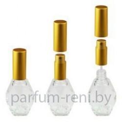 Флакон Женева 15мл (микроспрей золото)