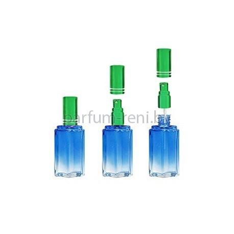 Флакон Микеланджело 25мл синий (спрей люкс зеленый)