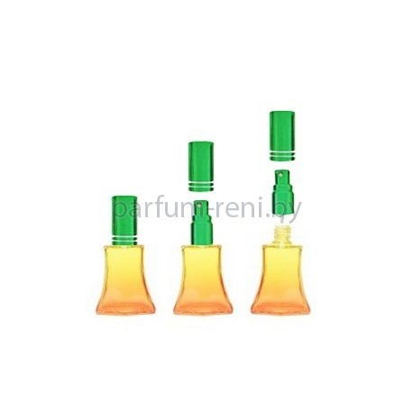 Флакон Франческа 20мл оранжевый (микроспрей зеленый)
