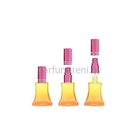 Флакон Франческа 20мл оранжевый (микроспрей розовый)