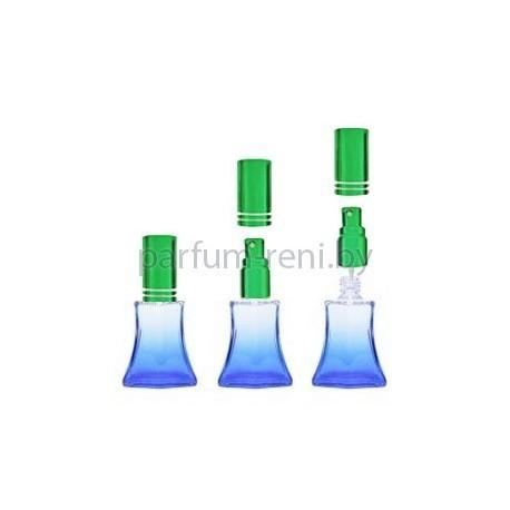 Флакон Франческа 20мл синий (микроспрей зеленый)