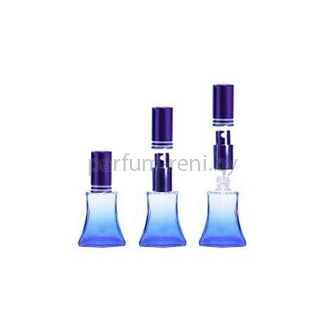 Флакон Франческа 20мл синий (микроспрей фиолетовый)