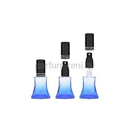 Флакон Франческа 20мл синий (микроспрей черный)