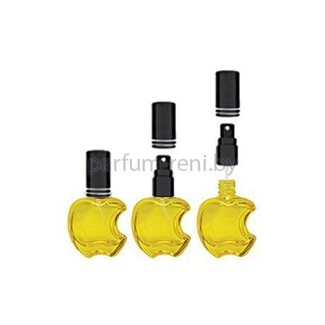 Флакон Эпл 15мл желтый (микроспрей черный)