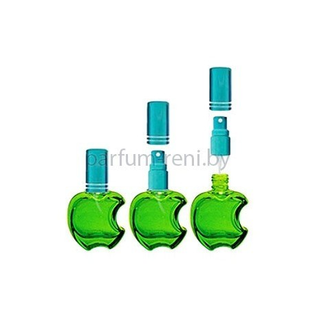 Флакон Эпл 15мл зеленый (микроспрей голубой)