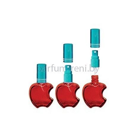 Флакон Эпл 15мл красный (микроспрей голубой)
