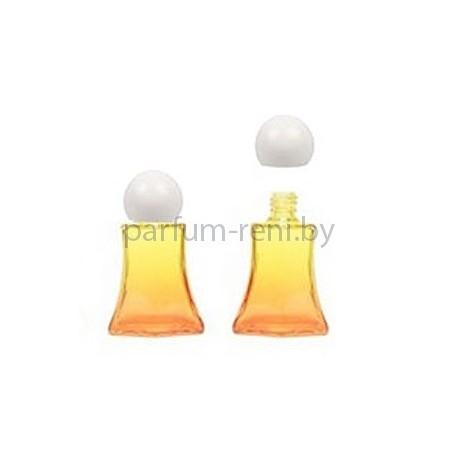Флакон Франческа 20мл оранжевый (крышка сфера)