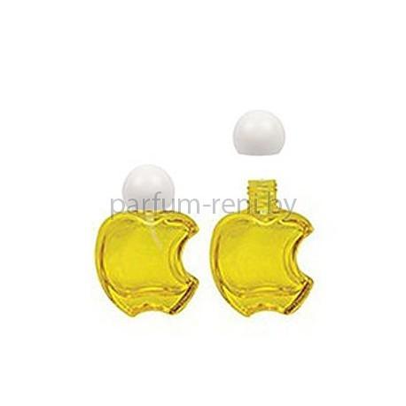 Флакон Эпл 15мл желтый (крышка сфера)
