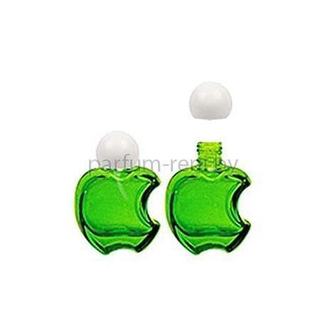 Флакон Эпл 15мл зеленый (крышка сфера)
