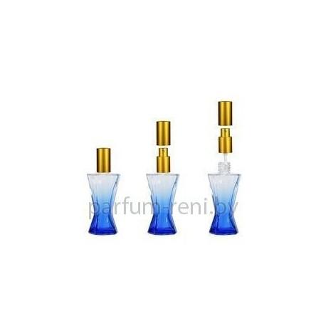 Флакон Винсент 35мл синий (спрей люкс серебро)