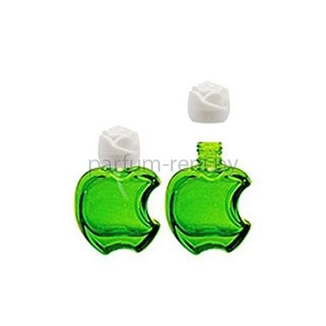 Флакон Эпл 20мл зеленый (крышка роза)