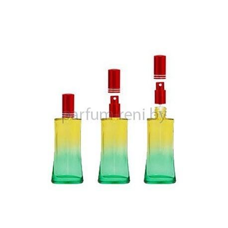 Флакон Ирис 50мл зеленый (спрей люкс красный)