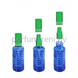 Флакон Спираль 20мл синий (спрей люкс зеленый)