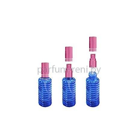 Флакон Спираль 20мл синий (спрей люкс розовый)