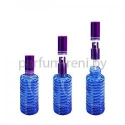 Флакон Спираль 20мл синий (спрей люкс фиолетовый)