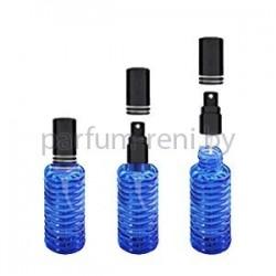 Флакон Спираль 20мл синий (спрей люкс черный)
