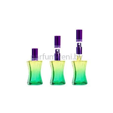 Флакон Призма 20мл зеленый (микроспрей фиолетовый)