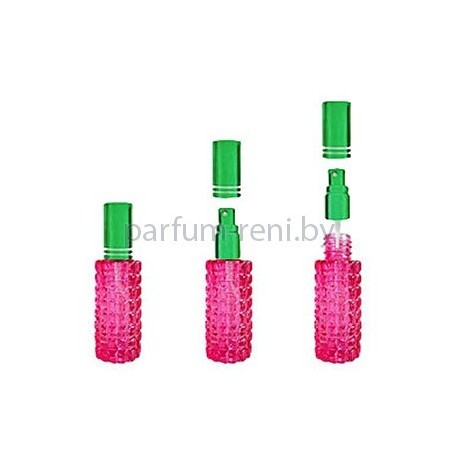 Флакон Гранат 20мл розовый (спрей люкс зеленый)