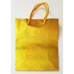 Голографический пакет 11*14см Золото
