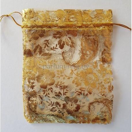 Мешочек из Органзы 10*12см Золото 5шт