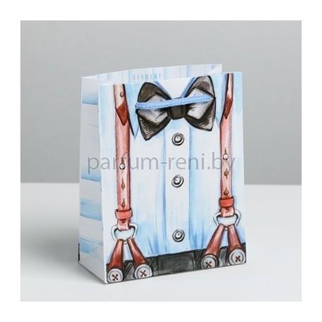 Пакет ламинированный 12*15см Голубой