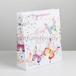 Пакет ламинированный 12*15см Розовый