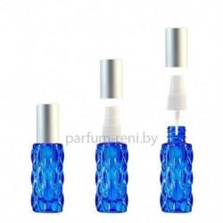 Флакон Гранат 20мл синий (спрей полулюкс серебро)