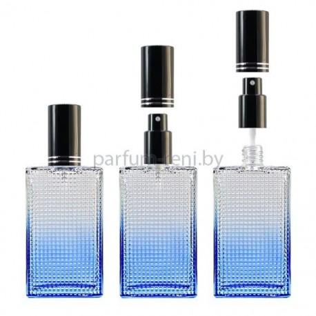 Флакон Престиж 100мл синий (спрей люкс черный)