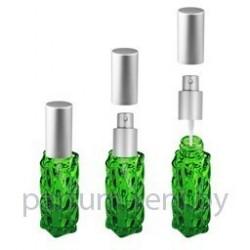 Флакон Гранат 20мл зеленый (спрей люкс серебро)