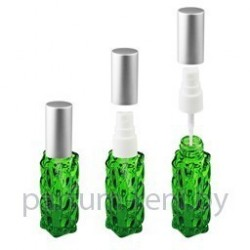 Флакон Гранат 20мл зеленый (спрей полулюкс серебро)