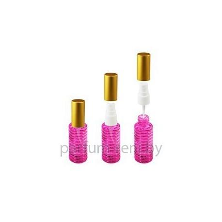 Флакон Спираль 20мл розовый (спрей полулюкс серебро)