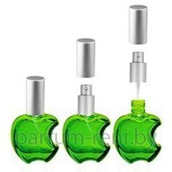 Флакон Эпл 15мл зеленый (микроспрей серебро)