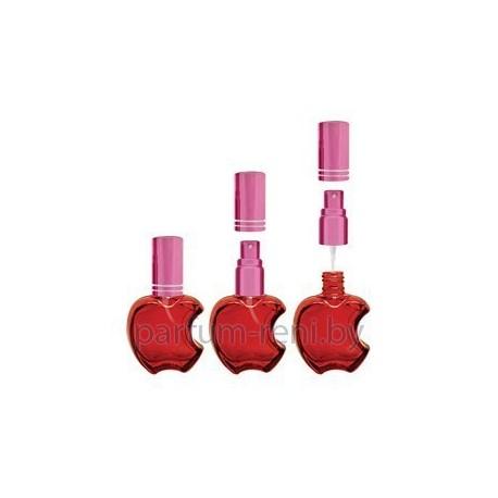 Флакон Эпл 15мл красный (микроспрей розовый)