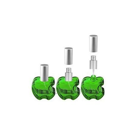 Флакон Эпл 20мл зеленый (микроспрей серебро)