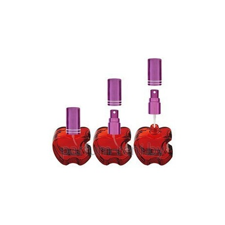 Флакон Эпл 20мл красный (микроспрей фиолетовый)