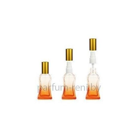 Флакон Белини 25мл оранжевый (спрей полулюкс серебро)