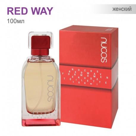 Туаленая вода для Женщин Nucos - Red Way